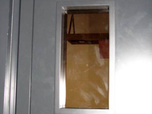 Stainless doors
