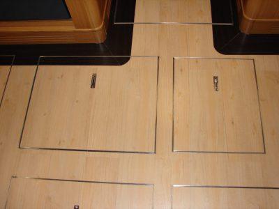Corridor flooring