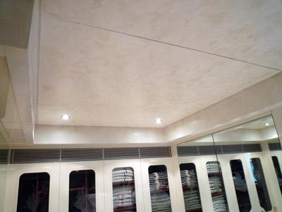 Interior deckheads