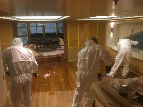 Varnish – interior flooring