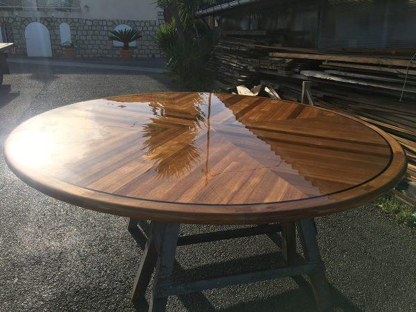 High gloss, Satin or Matt tables